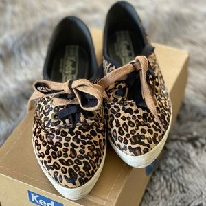 Keds animal print sneakers